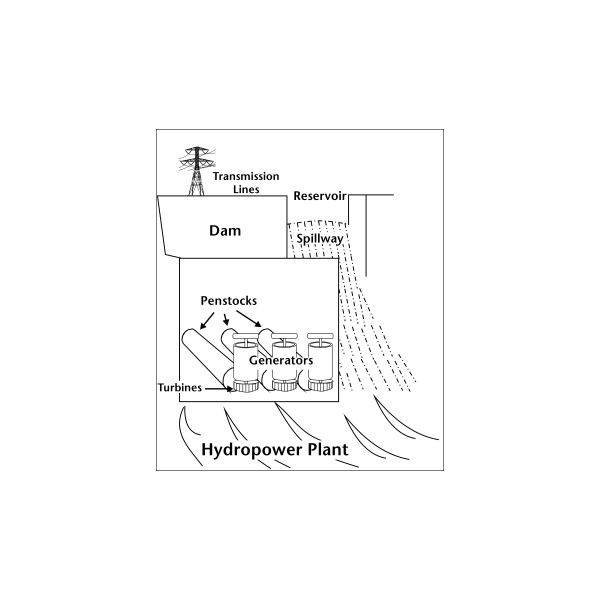 principle of hydropower generation  how is hydropower generated  what is water cycle