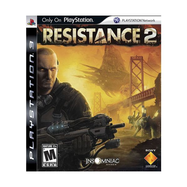 Resistance 2 - Not as Good as the Original - Sony PS3 Video Game Review