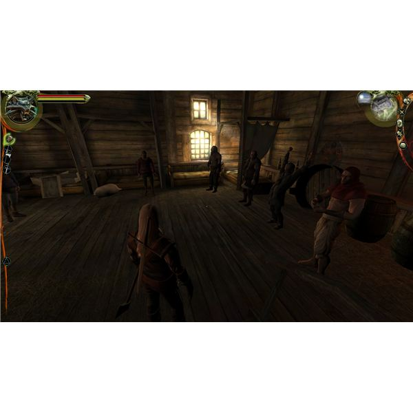 The Witcher - Old School Fistfighting Is Far From Pretty
