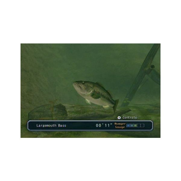Reel Fishing has boss fish that will challenge you