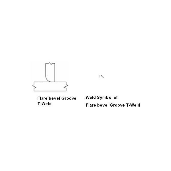 Flare Bevel Groove T joint