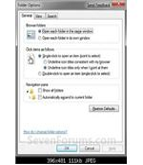 Fig8 - General Folder Options - Windows 7 Explorer