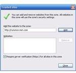 Screenshot - IE Internet Options - Sec-trust 2