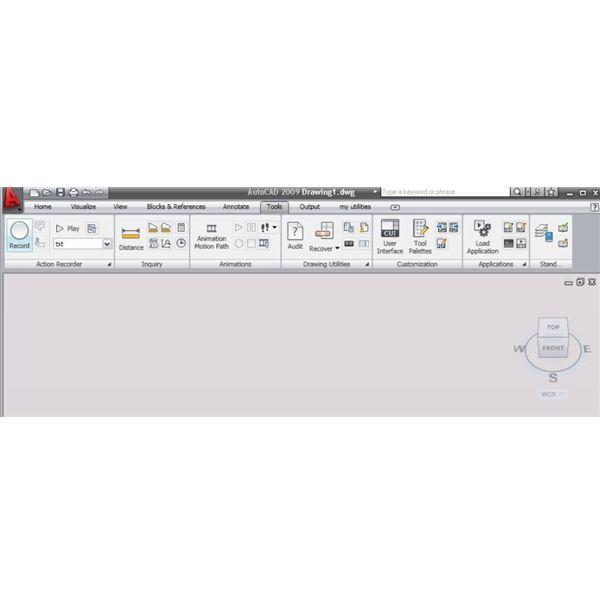 How to Work with Action Recorder in AutoCAD 2009