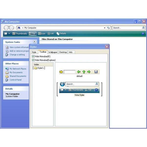 Windows Xp Theme File Software: Windows Vista Style XP Theme: Can Windows XP Look Like