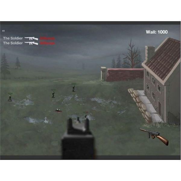 FPS browser game Palisade Guardian