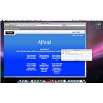 Safari's Download Window Afloat