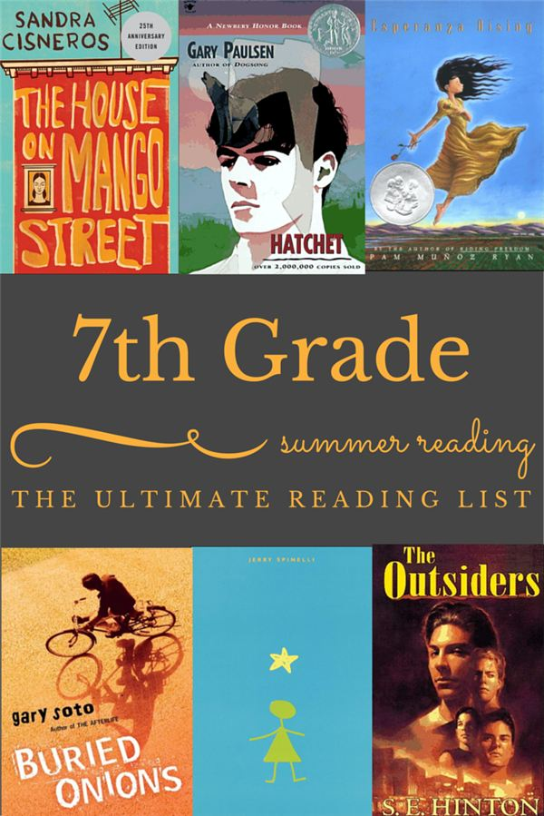 Summer Reading For Seventh Graders