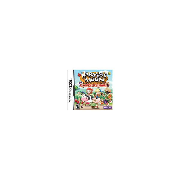 Nintendo DS Game Reviews: Harvest Moon: Frantic Farming Review, A Harvest Moon Puzzle Game