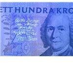 UV image of a money bill - photo courtesy of Enrico Savazzi