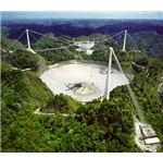 The Arecibo Radio Telescope in Puerto Rico