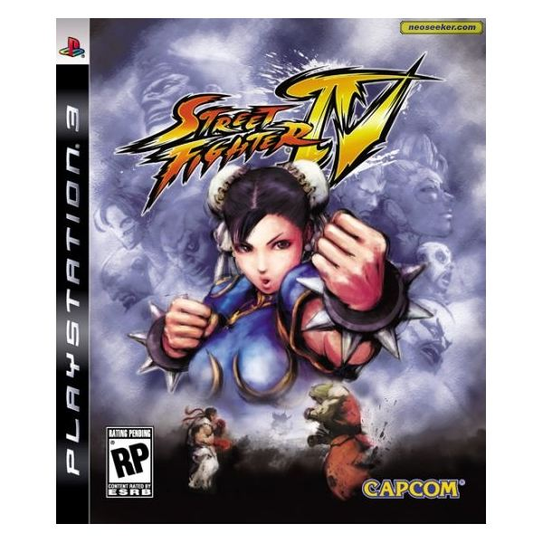 Playstation 3 Gamers Street Fighter IV Character Attacks Guide: Ken