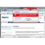 Phished PayPal Site Detected by SiteAdvisor