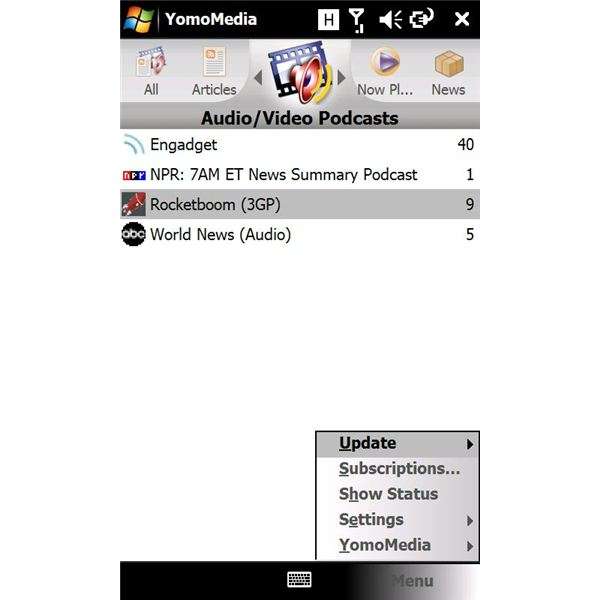 manage podcasts and vidcasts