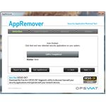 Scanning using AppRemover