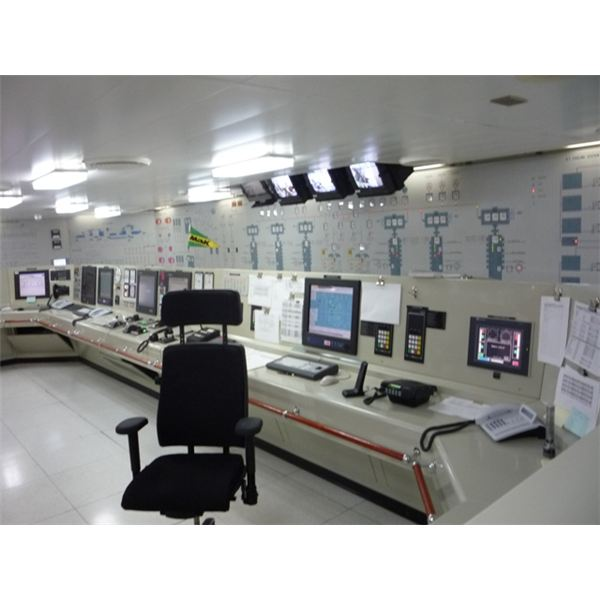 Engine Control Room in ships