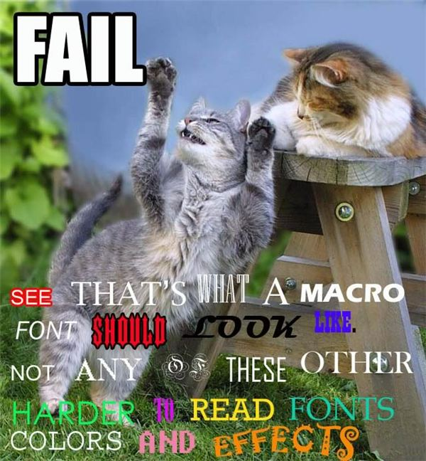 Don't Make it Hard to Read