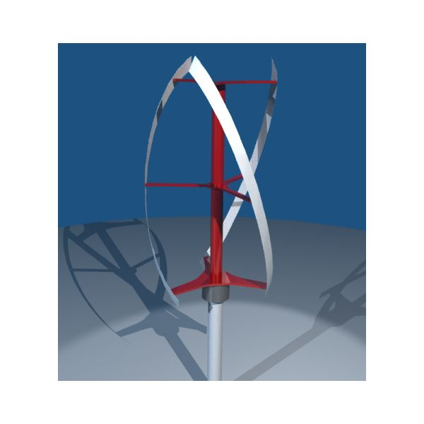 Vertical Wind Turbine Technology - The Darrieus Type