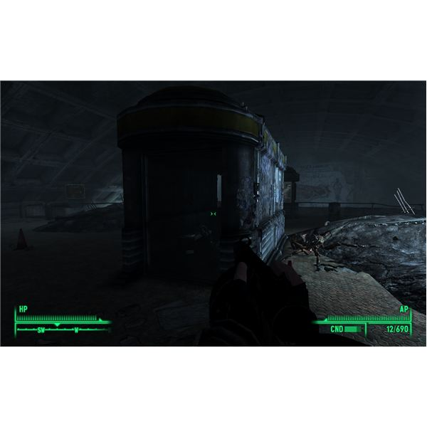 Fallout 3 - Grady is Inside This Station Box in Marigold Station