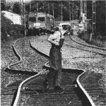 Thermal stress in a railroad track