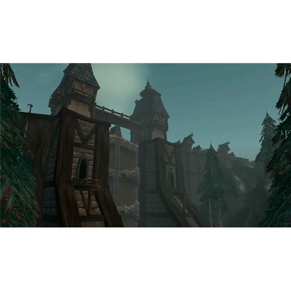 World of Warcraft Cataclysm - Greymane Wall