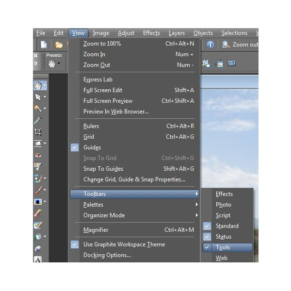 How to Crop a Photo in Corel Paint Shop Pro Photo X2