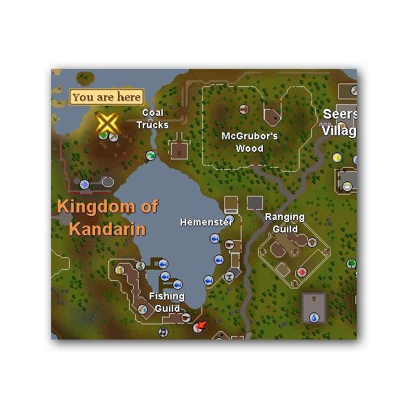 Best Places to Mine Coal in Runescape for Members and Free to Play