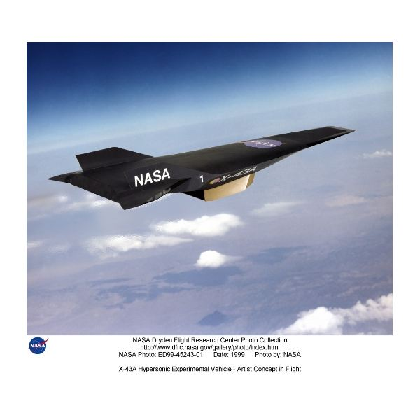 X-43A Hypersonic Vehicle by NASA