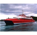 Highspeed catamaran ferry
