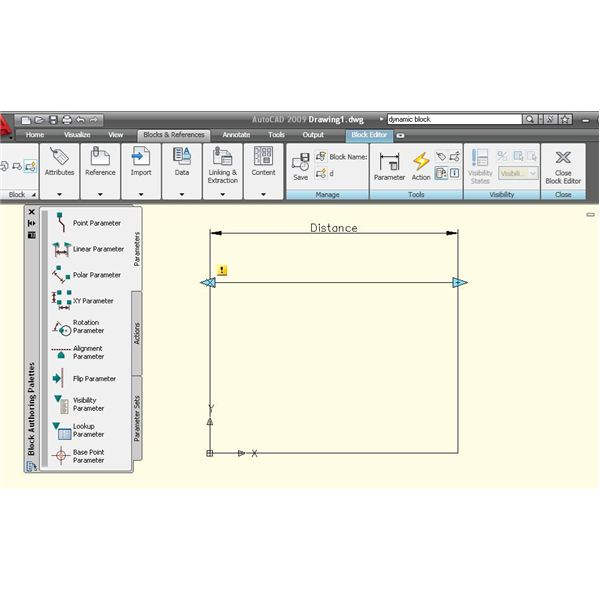 AutoCAD Dynamic Block