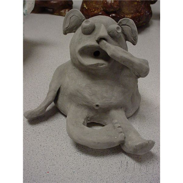 High School Art Lesson: Making Gargoyles Out of Clay