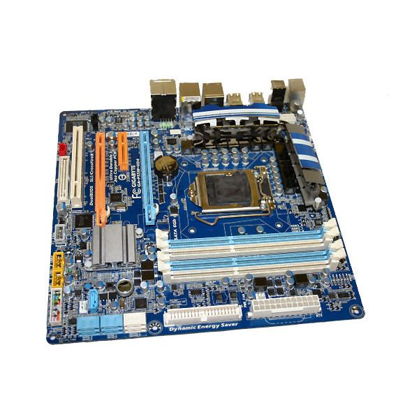 Gigabyte's P55M-UD4 is a solid mid-range Micro-ATX board