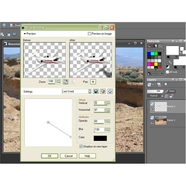 Create Shadow on New Layer
