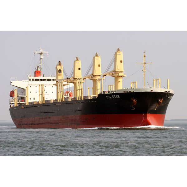A Geared Bulk Carrier