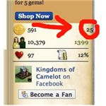 Low Tax Rate in Kingdoms of Camelot