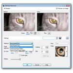 Advanced Settings for Red Eye Removal