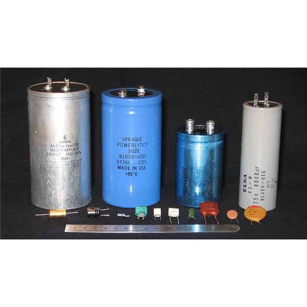 Examples of Can Style Capacitors
