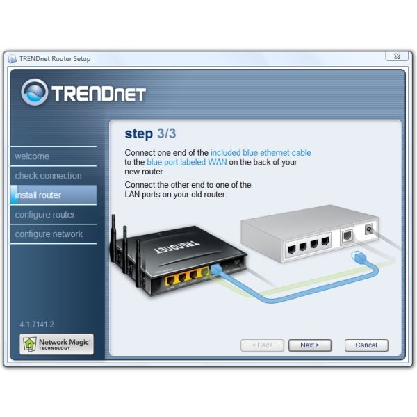 Install Router Final Hookup