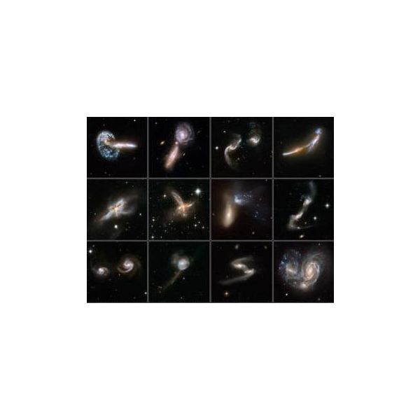 Images of Galaxies Colliding