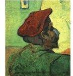 Paul Gauguin (Man in a Red Beret) by Van Gogh