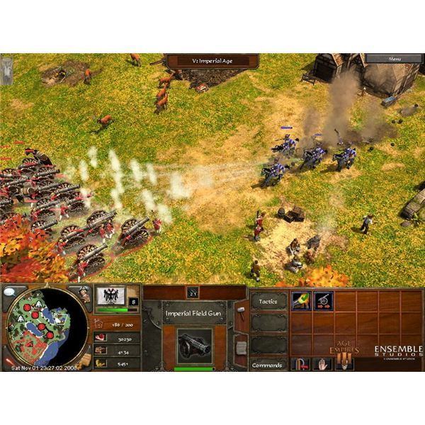 The secrets of Age of Empires III - Blood Campaign