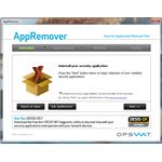 UI of AppRemover - First Launch