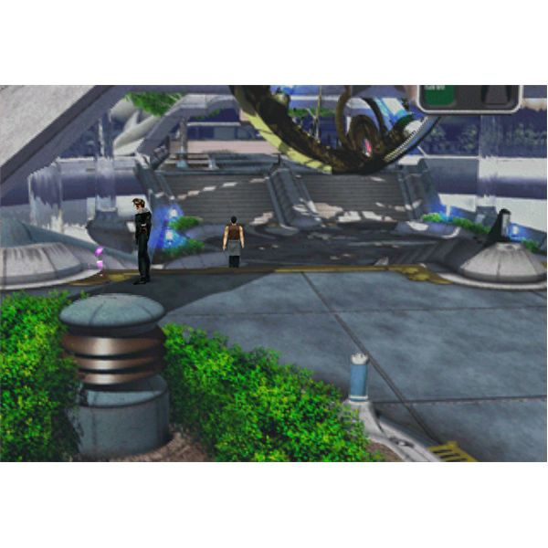 FF8 - Draw Cure Front Gate