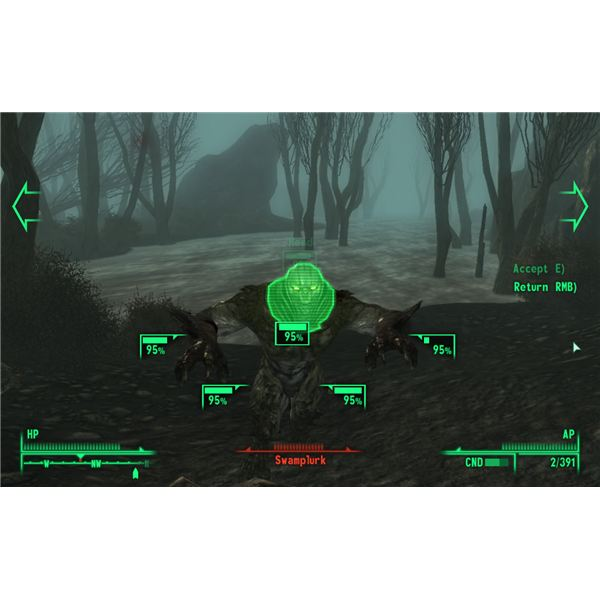 Fallout 3: Point Lookout - The Swamplurks Look Cool Too