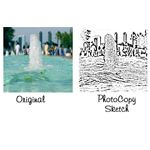 How to Apply Sketch Effects to Photos in Adobe Illustrator - photocopy