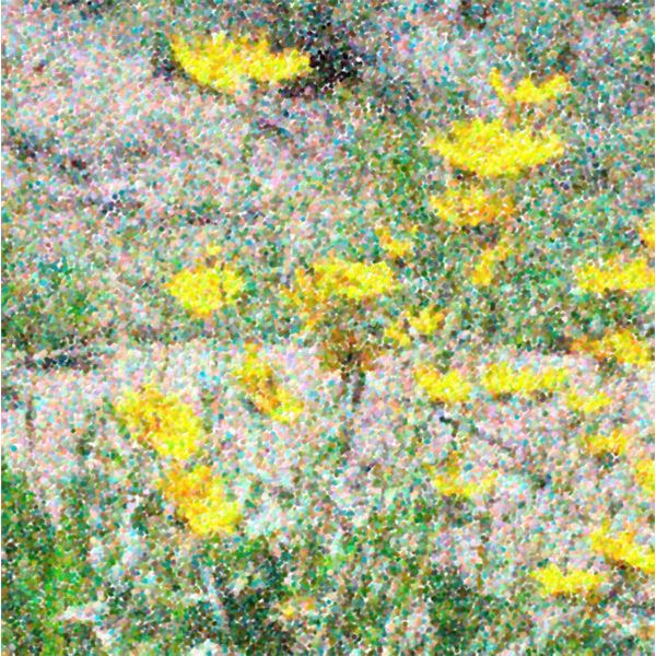 Simulated Pointillism Created Using Snap Art Plugin