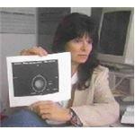 Carolyn Porco with Uranus