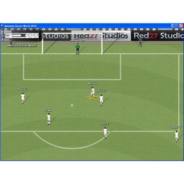 Awesome Soccer World takes a different approach to other football games on PC