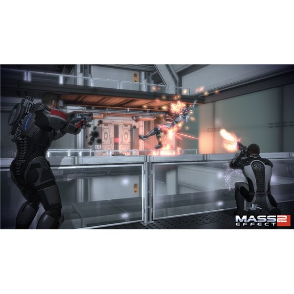 The updated GUI in Mass Effect 2 lets you change ammo types without pausing