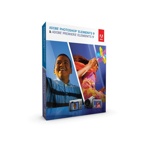 Photoshop Elements 9 and Premiere Elements 9 Bundle Box Shot